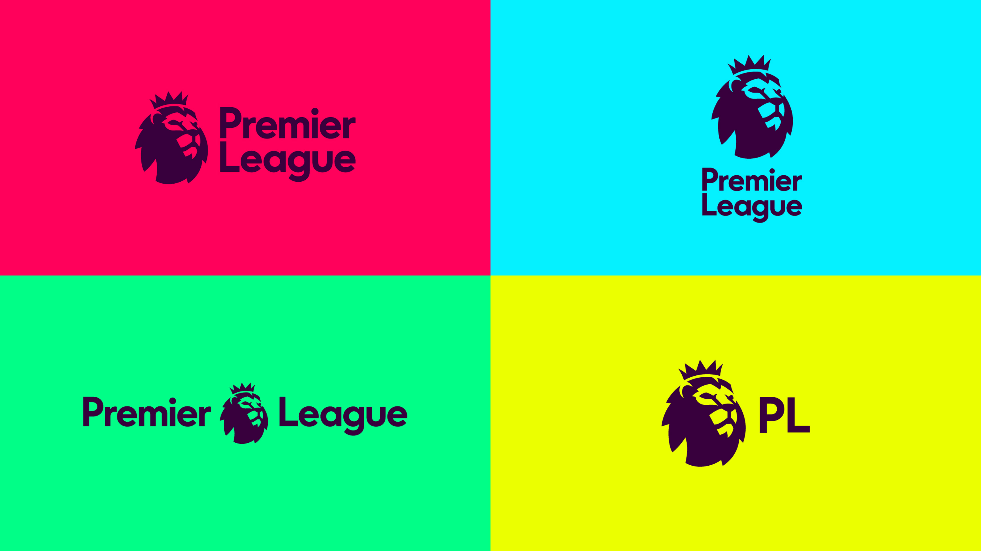 new premier league branding